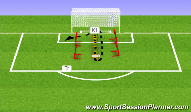 Football/Soccer Session Plan Drill (Colour): Oefening 2/ 5