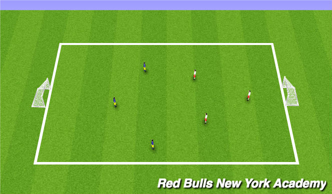 Football/Soccer Session Plan Drill (Colour): Game