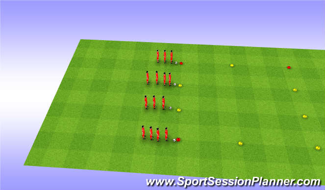 Football/Soccer Session Plan Drill (Colour): Warm ups1