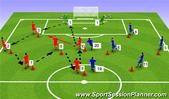 Football/Soccer: BP Session, Tactical: Playing out from the back Moderate
