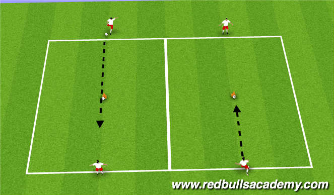 Football/Soccer Session Plan Drill (Colour): Main Theme - Passing