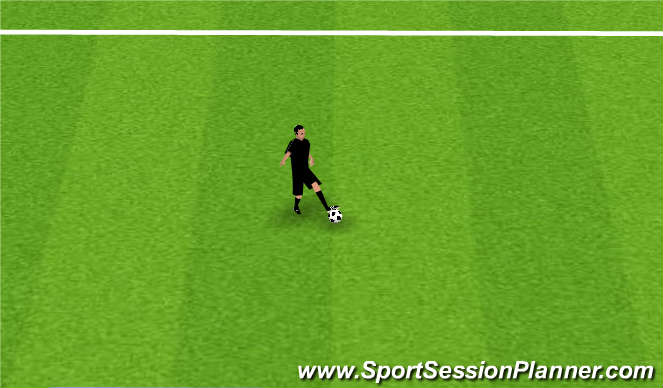 Football/Soccer Session Plan Drill (Colour): Home assignment