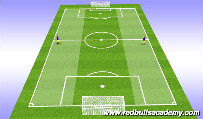Football/Soccer Session Plan Drill (Colour): Outside Mids