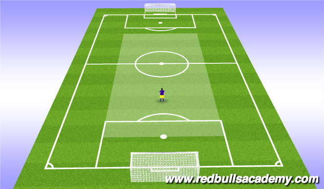 Football/Soccer Session Plan Drill (Colour): Def Mid