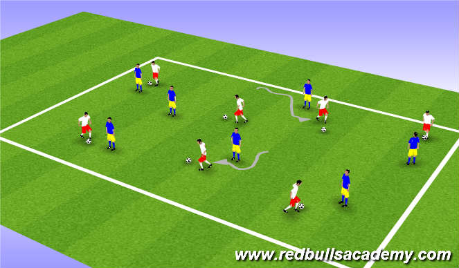 Football/Soccer Session Plan Drill (Colour): Main Theme Creative play