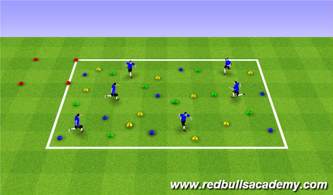 Football/Soccer Session Plan Drill (Colour): Bob the Builder – Get Building!