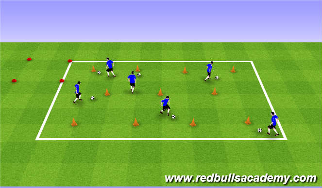 Football/Soccer Session Plan Drill (Colour): Bob the Builder – Can we fix it?