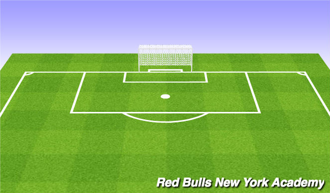 Football/Soccer Session Plan Drill (Colour): Unrestricted play 3v3v3