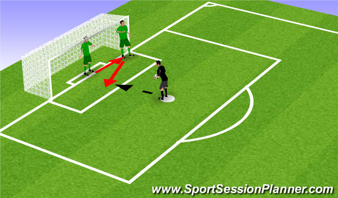 Football/Soccer Session Plan Drill (Colour): Introductie  1 #3