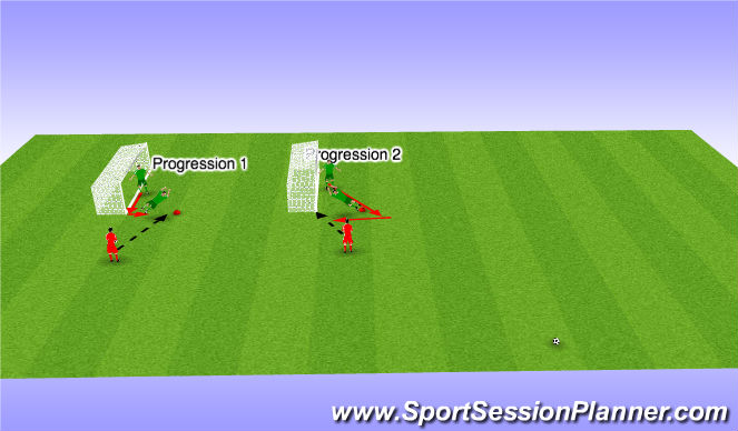Football/Soccer Session Plan Drill (Colour): Introductie  1 #4#5