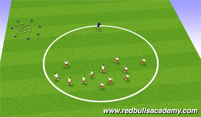 Football/Soccer Session Plan Drill (Colour): Main activity - Transformers