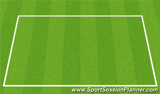 Football/Soccer Session Plan Drill (Colour): 5v5 w GKs