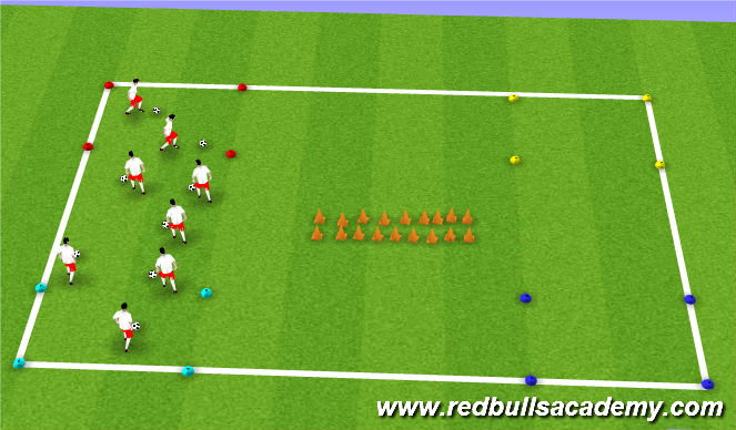 Football/Soccer Session Plan Drill (Colour): FIeld Trip