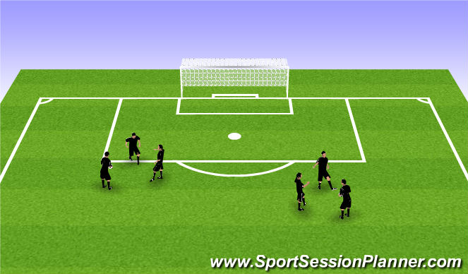Football/Soccer Session Plan Drill (Colour): Group Juggling