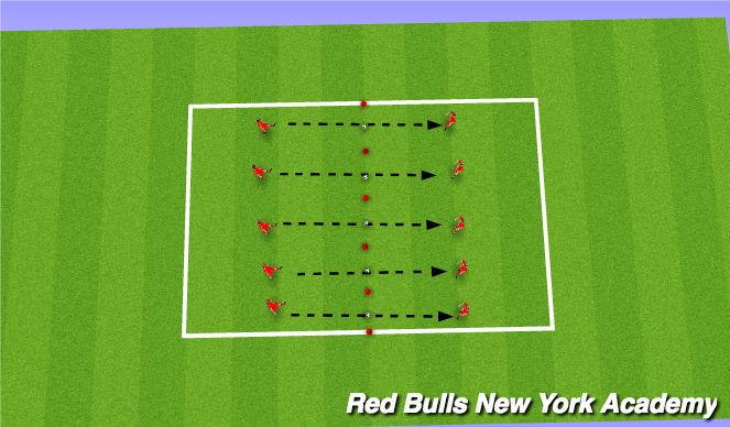 Football/Soccer Session Plan Drill (Colour): Wack a Mole