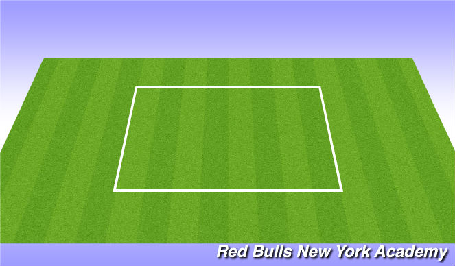 Football/Soccer Session Plan Drill (Colour): WARM UP- Footskills
