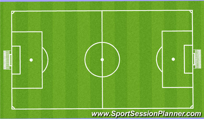 Football/Soccer Session Plan Drill (Colour): SBA