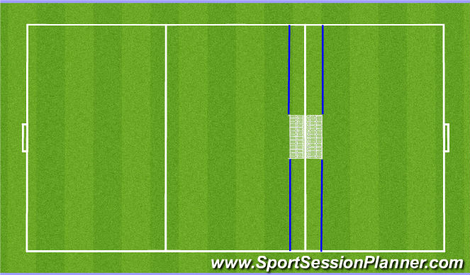 Football/Soccer Session Plan Drill (Colour): Gryta DeLuxe