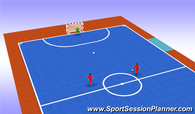 Futsal Session Plan Drill (Colour): Animación 1