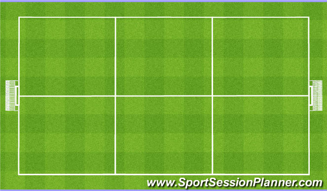 Football/Soccer Session Plan Drill (Colour): Close spaces around the ball. 8v8/11v11 Zamykanie przestrzeni wokół piłki.