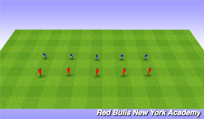 Football/Soccer Session Plan Drill (Colour): Partner Heading