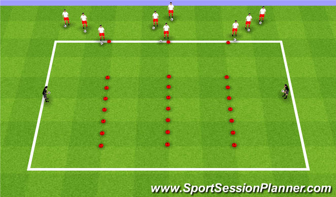 Football/Soccer Session Plan Drill (Colour): Week10 ODP 2nd Session Global