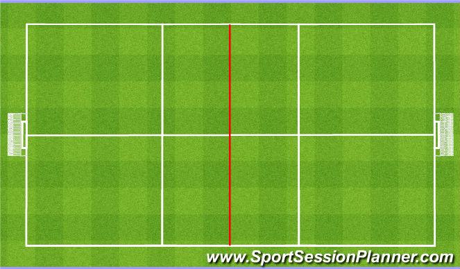 Football/Soccer Session Plan Drill (Colour): Close spaces around the ball. 8v8/11v11 Zamykanie przestrzeni wokół piłki.