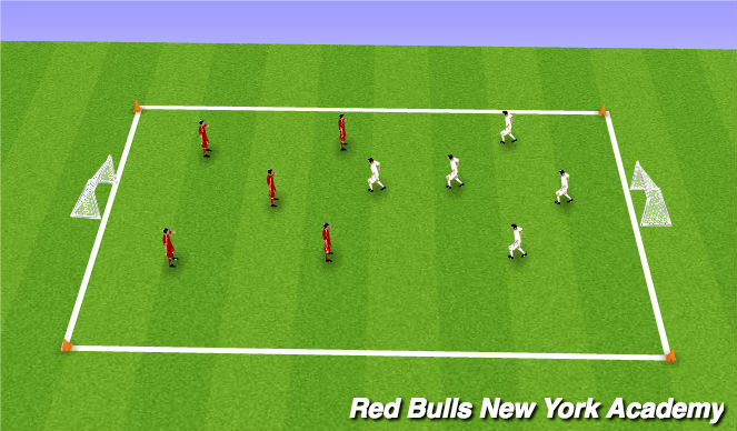 Football/Soccer Session Plan Drill (Colour): Activity 5: Match