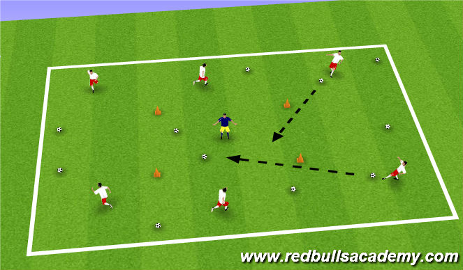 Football/Soccer Session Plan Drill (Colour): Backyardigans