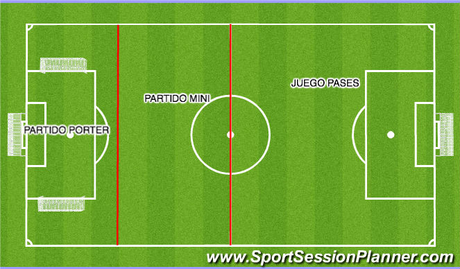 Football/Soccer Session Plan Drill (Colour): 3 JUEGOS