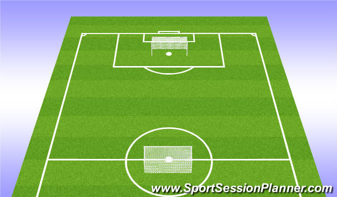 Football/Soccer Session Plan Drill (Colour): For the Gram - Soccer Volleyball Tourney