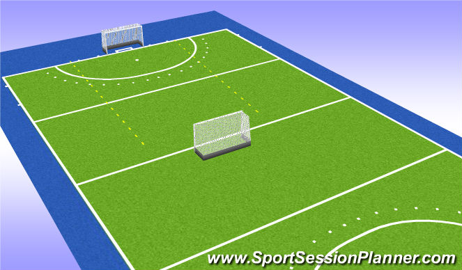 Hockey Session Plan Drill (Colour): game 2