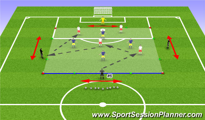 Football/Soccer Session Plan Drill (Colour): PG