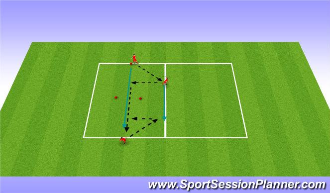 Football/Soccer Session Plan Drill (Colour): Balance