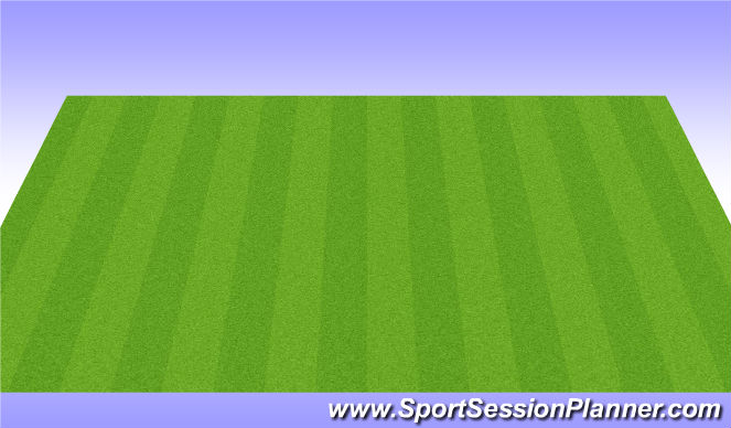 Football/Soccer Session Plan Drill (Colour): Skill Practice