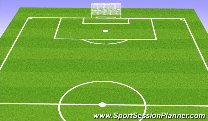 Football/Soccer Session Plan Drill (Colour): Frame