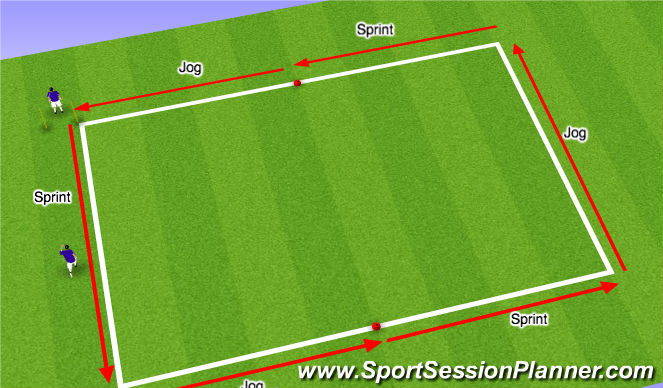 Football/Soccer Session Plan Drill (Colour): Scr