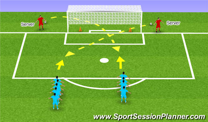 Football/Soccer: heading (Functional: Defender, U14)