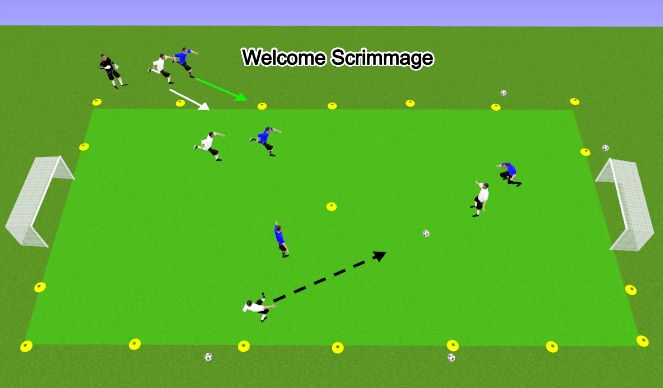 Football Soccer U9 Week 1 Dribbling To Beat And Opponent