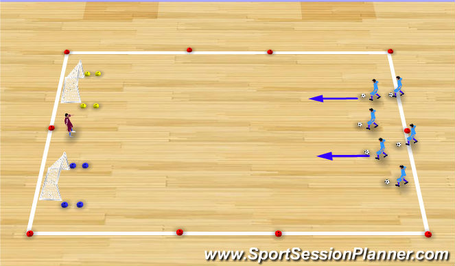 Futsal Session Plan Drill (Colour): Which Color?