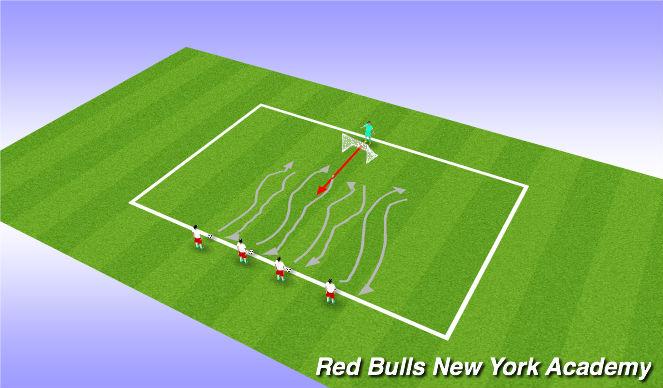 Football/Soccer Session Plan Drill (Colour): Mr. Fox Game