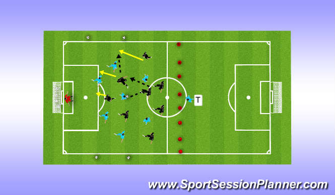 Football/Soccer Session Plan Drill (Colour): P 10