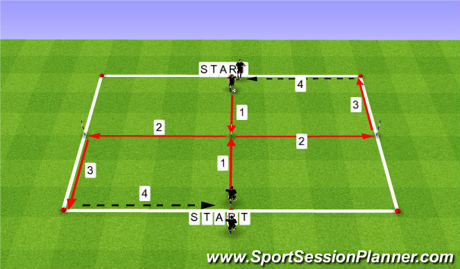Football/Soccer Session Plan Drill (Colour): PAGE: 2