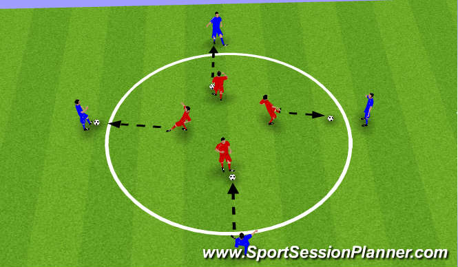 Football/Soccer Session Plan Drill (Colour): Windows