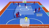 Futsal: Press Position with 2 from the back, Tactical: Defensive Principles/Formations Senior