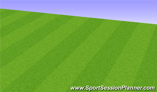 Football/Soccer Session Plan Drill (Colour): Fitness Program