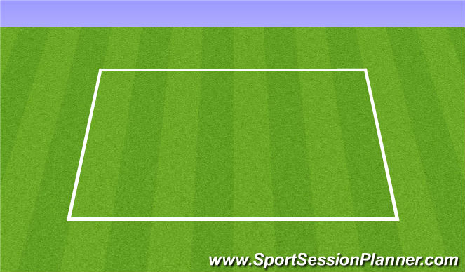 Football/Soccer Session Plan Drill (Colour): Juggle cool down