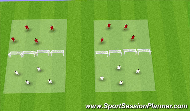 Football/Soccer Session Plan Drill (Colour): head tennis