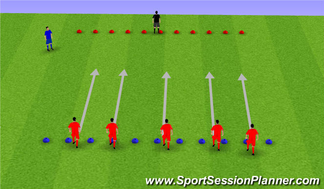 Football/Soccer Session Plan Drill (Colour): frill 2 whats the time wr/mrrs wolf