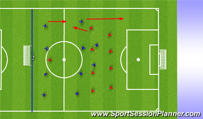 Football/Soccer Session Plan Drill (Colour): Picture 3